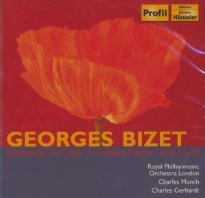 Symphonie n°1 ; L'Arlésienne suite n°1 et n°2 / Georges Bizet | Bizet, Georges. Compositeur