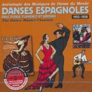 Anthologie des musiques de danse du monde : danses espagnoles, 1955-1958