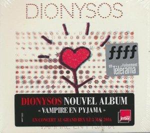 Vampire en pyjama / Dionysos   Dionysos. Chanteur. Musicien