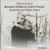 Musiques inédites du cinéma français