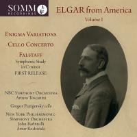 Elgar from America vol 1 - Enigma variations - Cello concerto