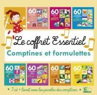 Coffret essentiel comptines & formulettes (Le