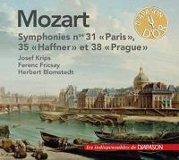 Symphonies n°31 'Paris', 35 'Haffner' et 38 'Prague'