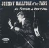 Johnny Hallyday et ses fans au festival de rock'n'roll