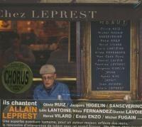 Chez Leprest : ils chantent Allain Leprest