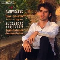 Piano concerto 3, 4 & 5 'L'Egyptien'