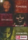 Coffret horreur : Annabelle ; Conjuring : les dossiers Warren ; L'exorciste