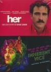Joaquin Phoenix : her ; Inherent vice