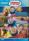 Thomas et ses amis : la route du courage ; Sur la piste des dinosaures ; La légende du trésor perdu