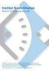 Troubles spécifiques du langage : institut Saint-Charles : ouvrir le livre du monde