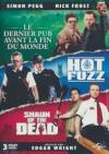 Trilogie 'Cornetto' : hot fuzz ; Shaun of the dead ; Le dernier pub avant la fin du monde