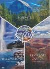 Trio grands espaces : Yosemite ; Yellowstone ; Le grand canyon
