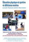 Handicap moteur : EPS et déficience motrice au lycée Toulouse-Lautrec, Vaucresson