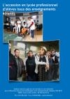 Segpa-Egpa : l'accession en lycée professionnel d'élèves issus des enseignements adaptés