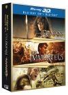 Conan 3D ; Les immortels 3D ; Le choc des Titans 3D