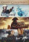 Coffret grands conquérants : conquest ; Red gallion ; Drakkar