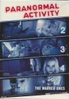 Paranormal activity 2, 3, 4 & 5