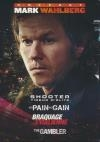 Coffret Mark Wahlberg : no pain no gain ; The gambler ; Shooter ; Braquage à l'italienne