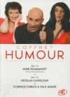 Coffret humour : Anne Roumanoff ; Nicolas Canteloup ; Florence Foresti