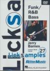 Licksamples : Funk R&B Bass