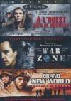 Coffret guerre : à l'Ouest rien de nouveau ; War zone ; Brand new world
