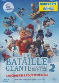 Bataille géante de boules de neige 2 (La) : l'incoyable course de luge