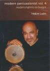Modern percussionist : volume 4
