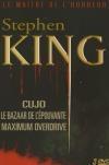 Stephen King : cujo ; Le bazaar de l'épouvante ; Maximum overdrive