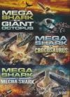 Mega shark vs giant octopus ; Mega shark vs crocosaurus ; Mega shark vs mecha shark