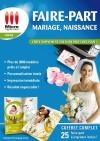 Faire-part : mariage, naissance