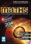 Archimède : excellium 2014