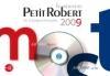 Nouveau petit Robert (Le) : 2009