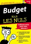 Budget pour les nuls