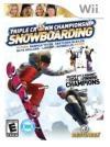 Triple crown championship : snowboarding