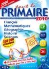Tout le primaire 2010