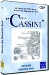 Carte de Cassini : nord et sud + Localisation