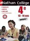 Nathan collège 4ème : Français ; Maths ; Anglais