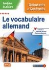Soutien scolaire : le vocabulaire allemand : Débutant - confirmé