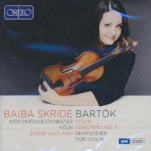 Violin concerto n° 2. Rhapsodies for violon / Béla Bartok  