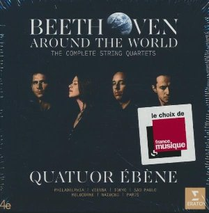 Beethoven - Around the world : The complete string quartets | Beethoven, Ludwig van (1770-1827). Compositeur