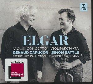 Violin concerto. Violin sonata. Sonate pour violon = Concerto pour violon | Elgar, Edward. Compositeur