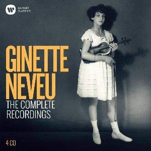The complete recordings | Neveu, Ginette. Violon