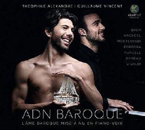 ADN baroque : l'âme baroque mise à nu en piano-voix