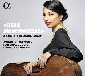 'Dear mademoiselle' a tribute to Nadia Boulanger / Astor Piazzolla ; Igor stravinsky, Nadia Boulanger ; Elliott Carter ; Philipp Glass ; Michel Legrand ; Quincy Jones, comp. | Piazzolla, Astor