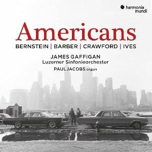 Americans / Leonard Bernstein ; Charles Ives ; Samuel Barber ; Ruth Crawford, comp. | Bernstein, Leonard (1918-1990) - Compositeur, chef d'orchestre et pianiste américain. Compositeur