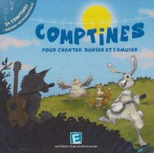 Comptines, pour chanter danser et s'amuser : 34 comptines, versions instrumentales  