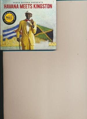 Mista savona presents Havana meets Kingston / Maikel Ante, Felix Baloy, Solis, ... [et al.] | Ante, Maikel
