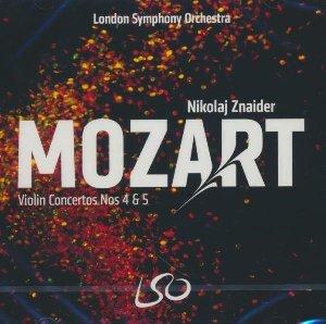 Violin concertos n°4 & 5 / Wolfgang Amadeus Mozart | Mozart, Wolfgang Amadeus. Compositeur