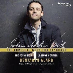 Complete work for keyboard : vol.1 : The young heir - le jeune héritier / Jean-Sébastien Bach | Bach, Jean-Sébastien