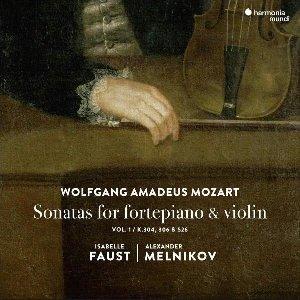 Sonatas for fortepiano & violin = Sonates pour pianoforte et violon : vol.1 / Wolfgang Amadeus Mozart   Mozart, Wolfgang Amadeus. Compositeur